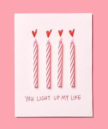 25 Easy Diy Valentines Day Gift And Card Ideas: 10 Clever And Unique Birthday Card Ideas